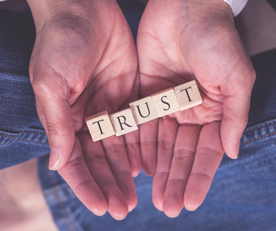 Divine Mercy involves trust!